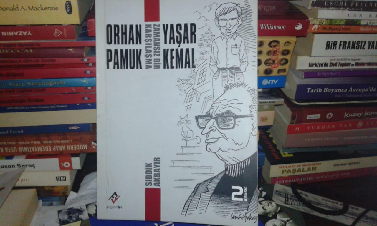 Sıddık Akbayır, Orhan Pamuk Yaşar Kemal Zamansız Bir Karşılaşma Kitabı Özeti