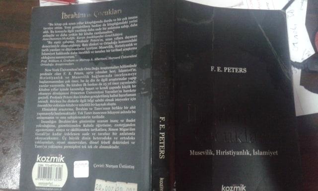 F. E. PETERS İbrahimin Çocukları Kitabı Özeti İnceleme