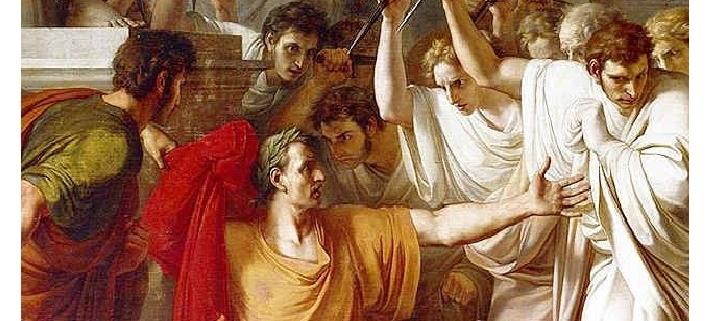 Roma İmparatoru Jül Sezar'ın Ölümü